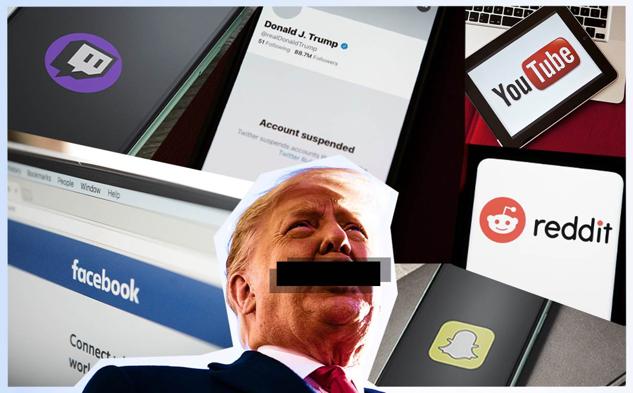 Donald Trump's Social Media Ban!