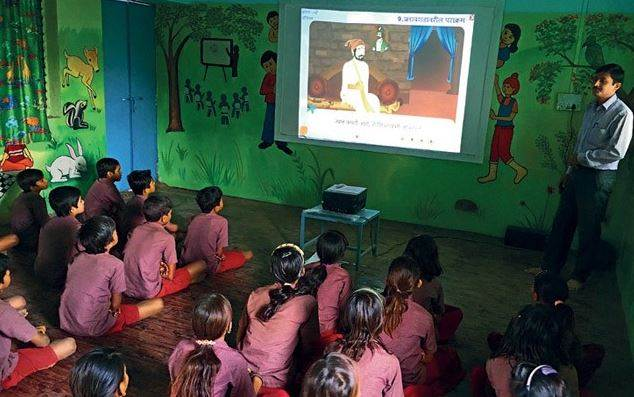 E-Education Spreading In Rural India During Coronavirus Pandemic