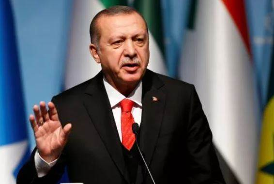 Turkey President Slip Tongue On Kashmir
