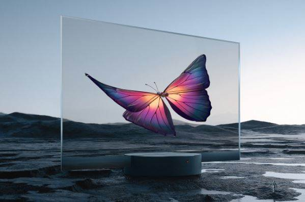 Xiaomi Presents World's First Mass Transparent TV