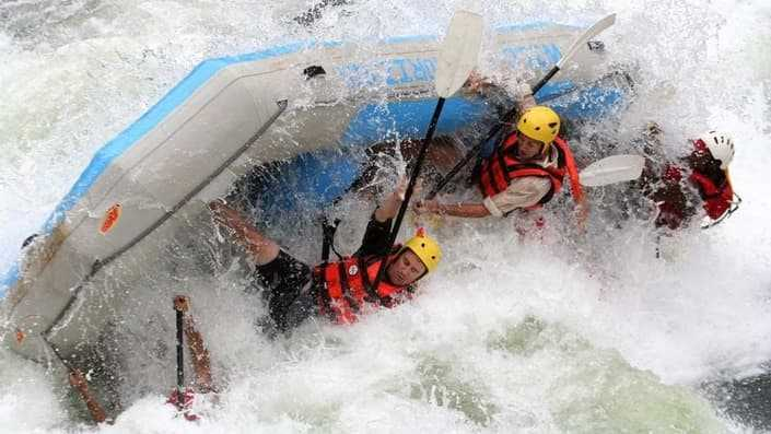 River rafting banned in Rishikesh