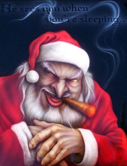 Who is Santa Claus Children s Giftman or Devil s Man