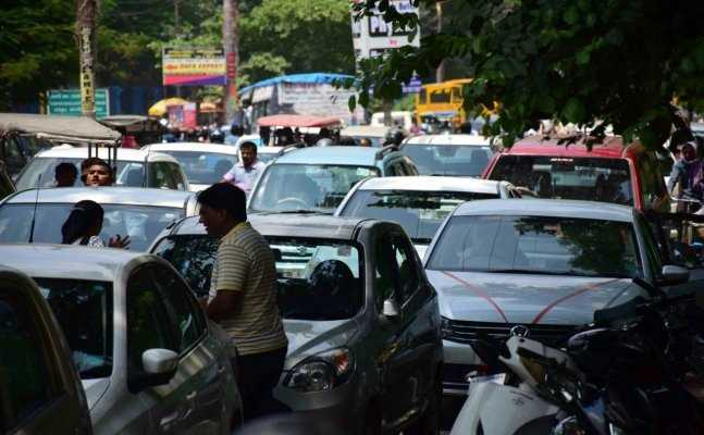 Where the hell is the Traffic Management System in Allahabad?