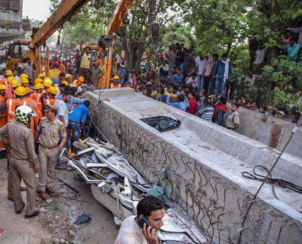 Flyover collapse in Varanasi - An Accident or Mishandling by authorities