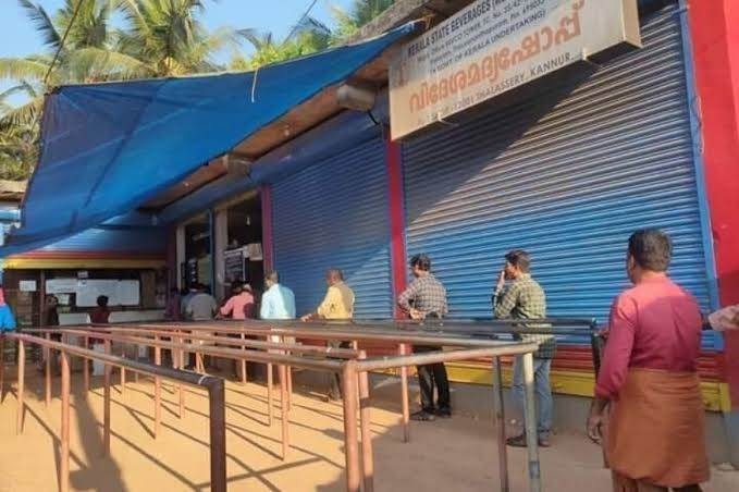 Kerala, Liquor and Coronavirus Problem Angle