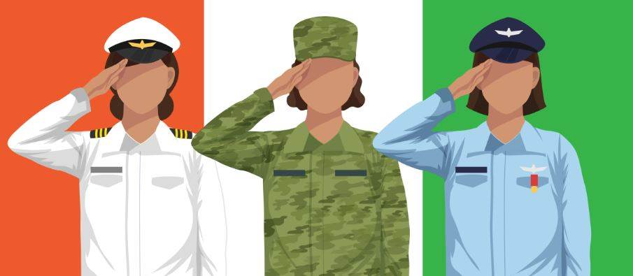 Equation Of Women In Armed Forces