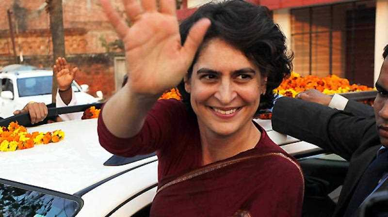 Role of Priyanka Gandhi in Congress Party