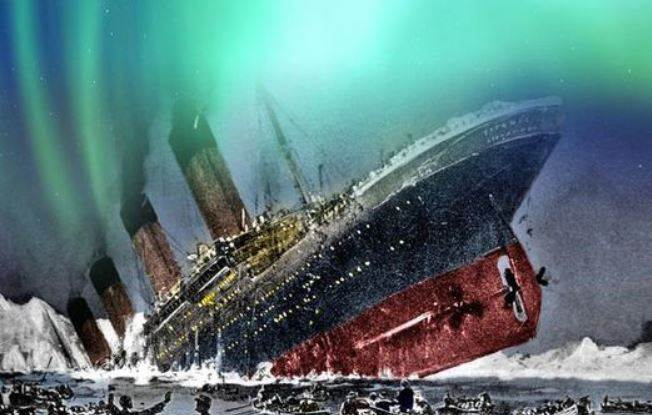Titanic Did Not Sank Due To Iceberg !