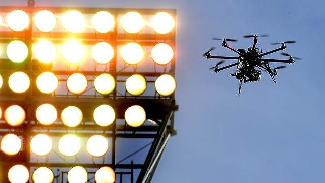 Cricket - Drones eye will take you to the boundary now!