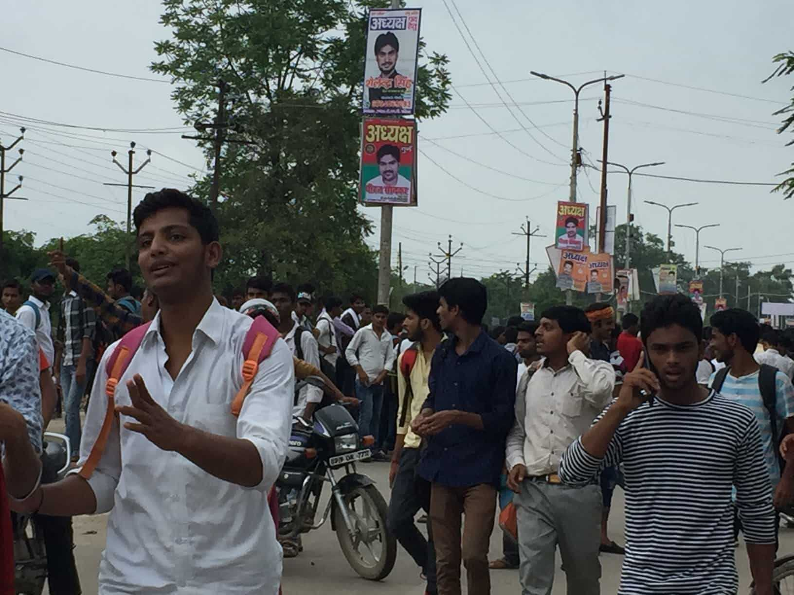 Management failure led CMP student on roads for protest…!