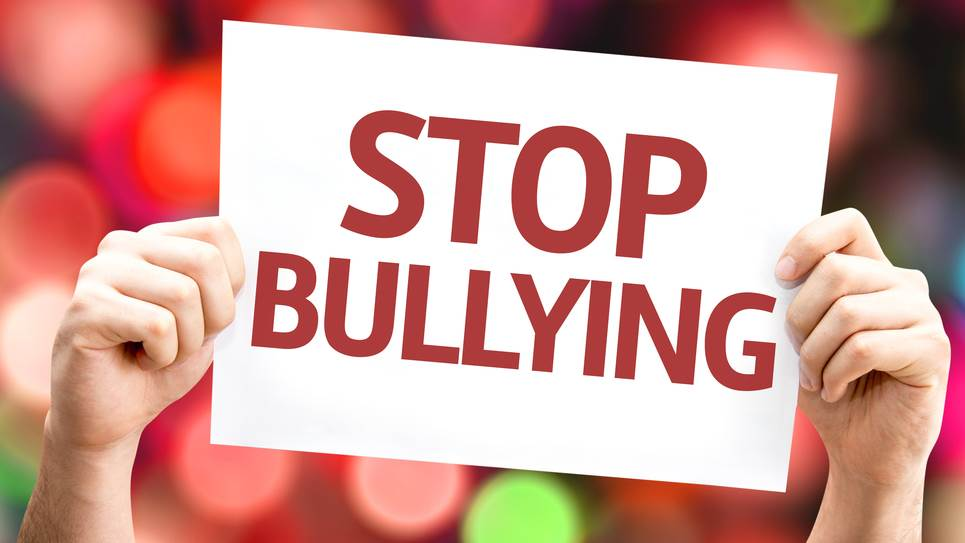 Bullying evaporates from corrupt minds