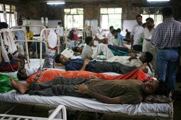 """Crisis in India's healthcare system"""