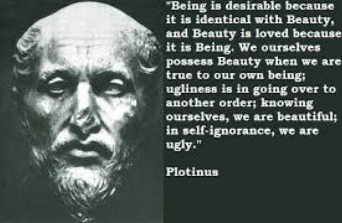 "Rooting Plotinus Thought Of ""Being"""