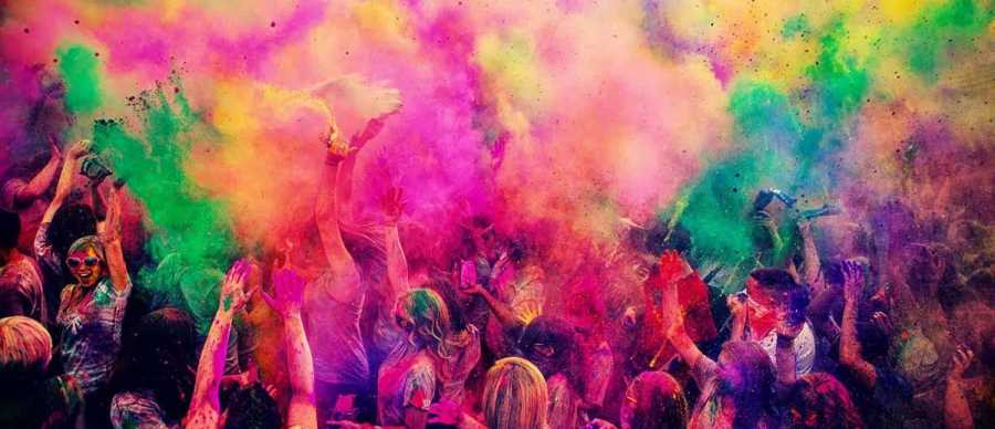 The Festival of Colours: Holi