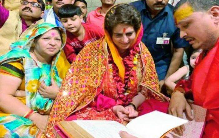 Priyanka Gandhi Vadra- The Fake Hindu