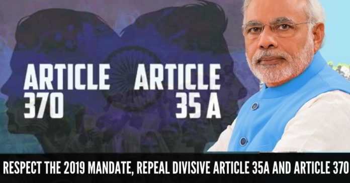 The Controversy of Article 370 & 35 A