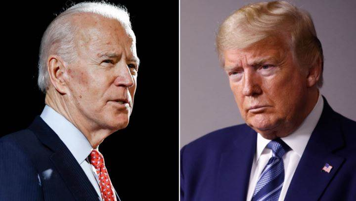 US President Donald Trump Attacks Joe Biden In His Own's Style