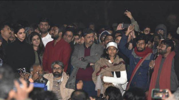 JNU's Protest is not a picture of this  country