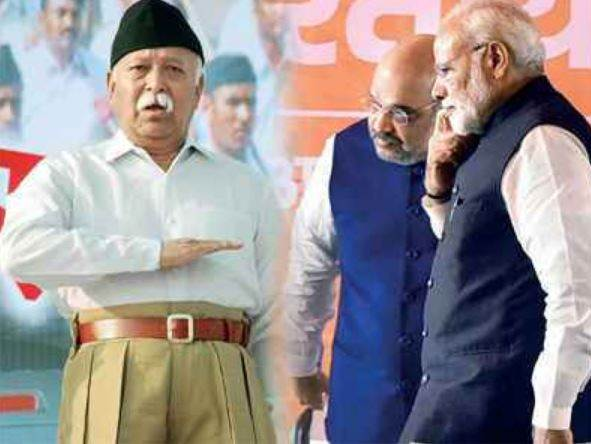 BJP New Team 2020 : Distancing Itself From RSS ?