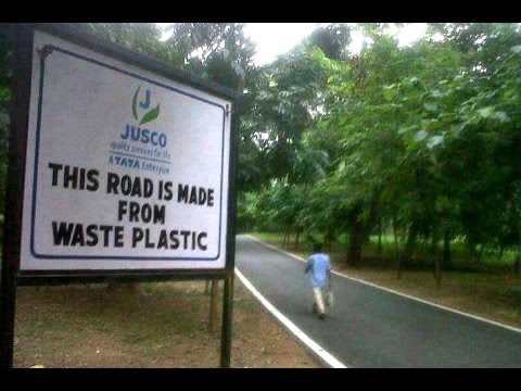 Yes! Now we too have roads made of plastic