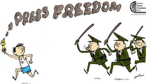 "MEANING OF ""PRESS FREEDOM"""