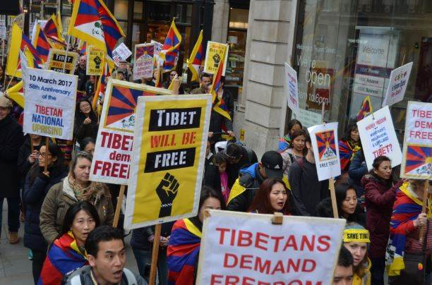 Everyone Cares For Hong Kong But For Tibet No One's There