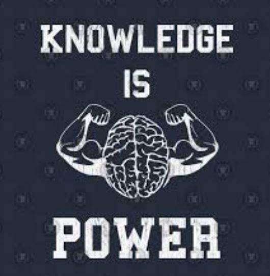 In The End Only Knowledge Is Power
