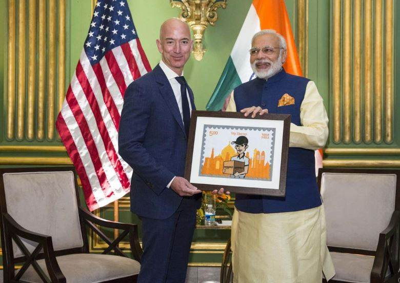 Modi Government Miffed With Jeff Bezos