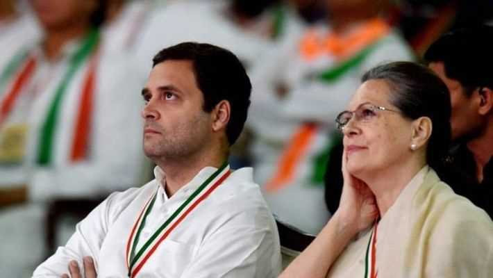 Sonia Gandhi Interim Congress Chief
