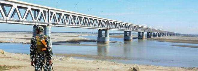 The Bogibeel Bridge in India